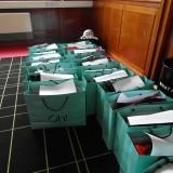 Goodiebags til alle modellerne fra bl.a. Oh by Kopenhagen   Photo: Charli Skovgaard