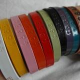 Farvede kobber armbånd Mandela   Photo: Charline Skovgaard