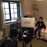 Christophe Dolcerocca instruerer Maher og børnene
