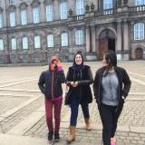 På tur i København, her på Christiansborg