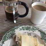 Stempelkaffe rester er perfekt til bodyscrub